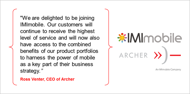 Imimobile buys Archer Digital South Africa